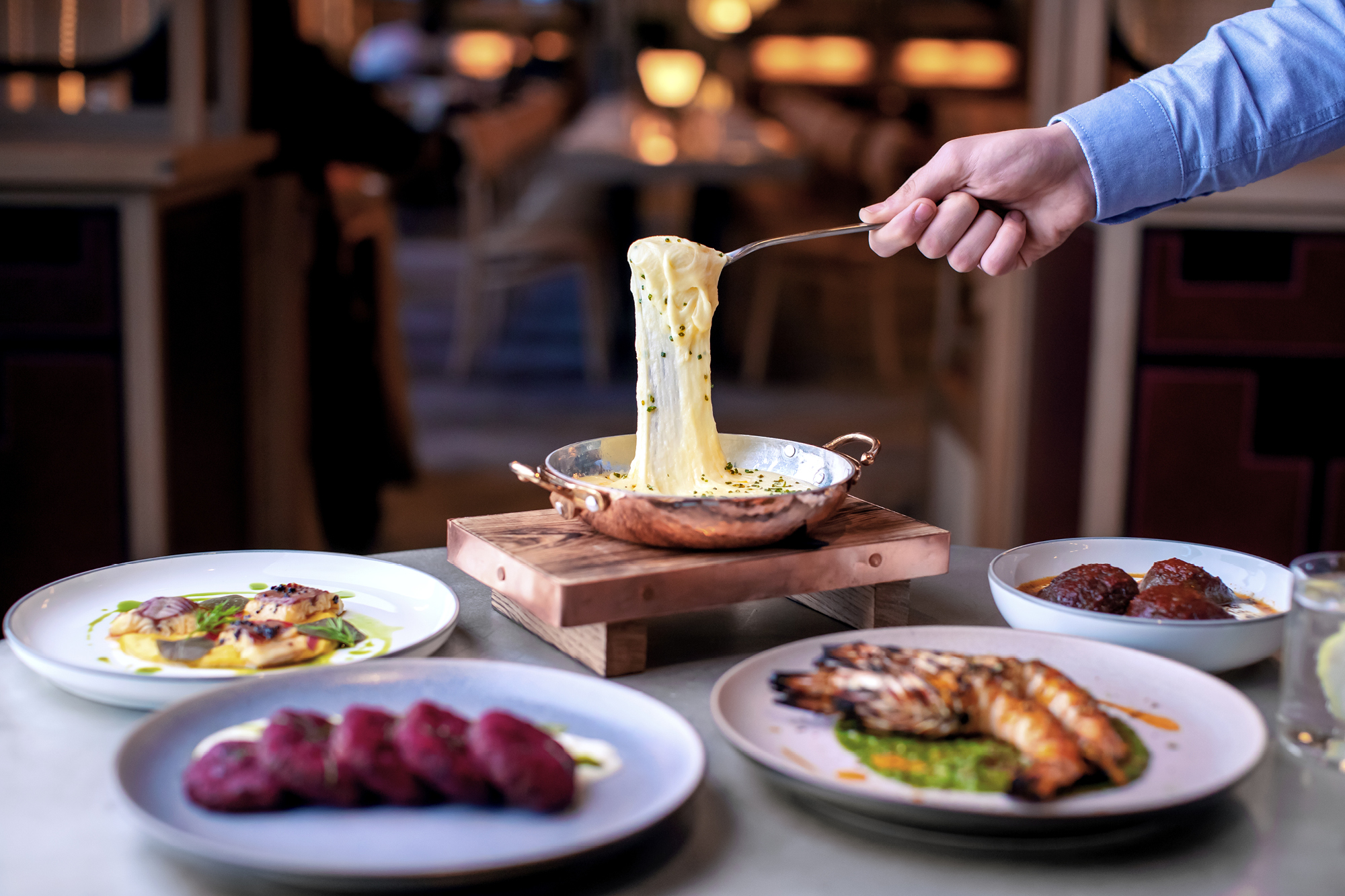 The menu at Barboun is full of nibbles, small plates, big plates and sides; perfect for sharing.
