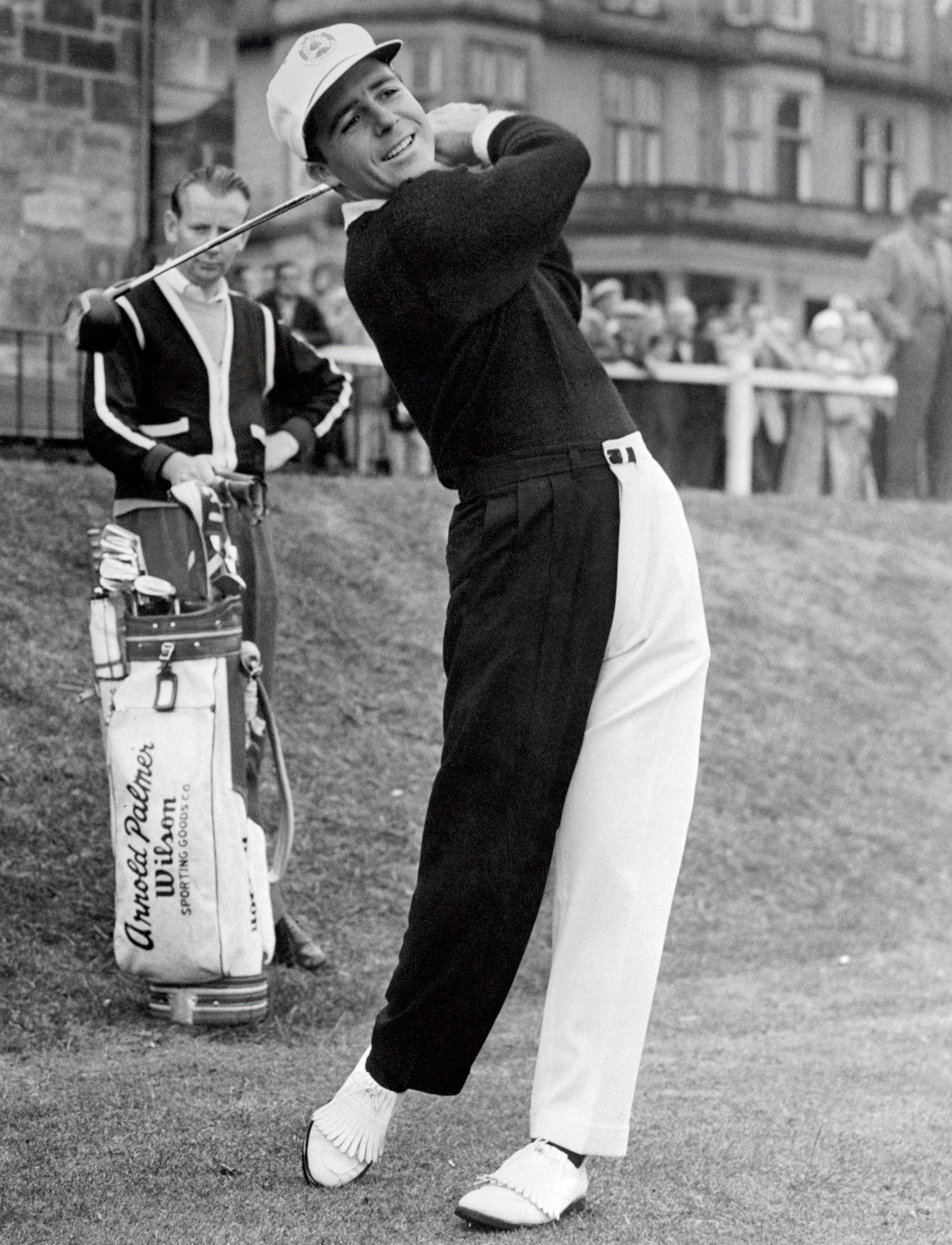 Gary Player at the 1960 Open Championship.