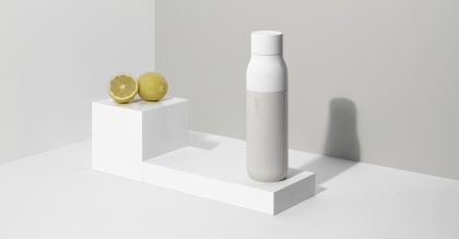 LARQ - the world's first self-cleaning reusable bottle