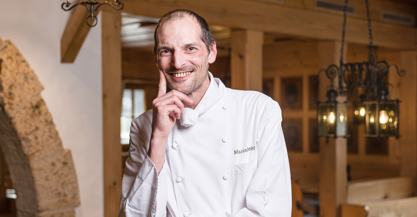 World-famous Gstaad chef Marcel Reist
