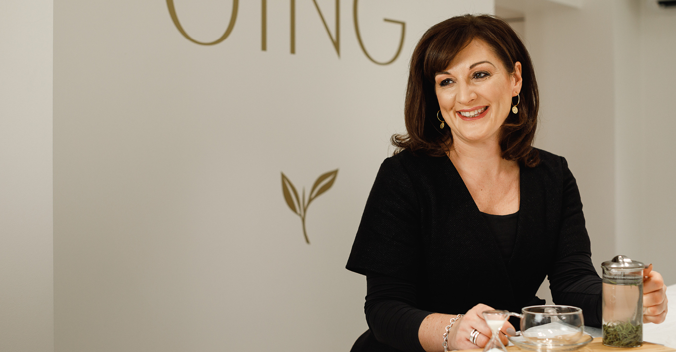 Catherine Archer, CEO of Jing Tea