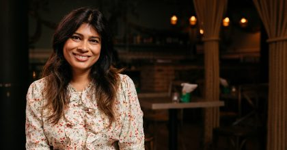 Nisha Katona, the former barrister and owner of Mowgli Street Food Restaurant