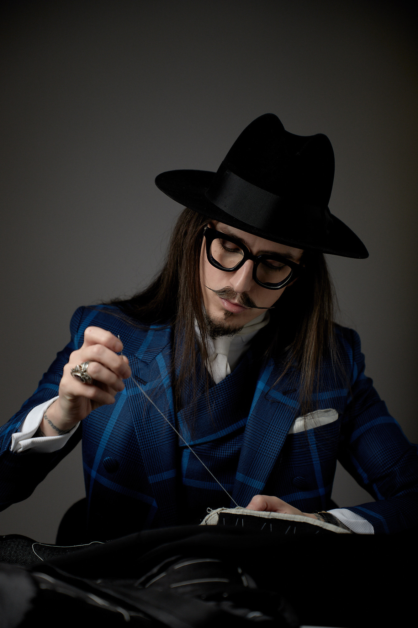 Joshua Kane, fashion designer and bespoke tailor