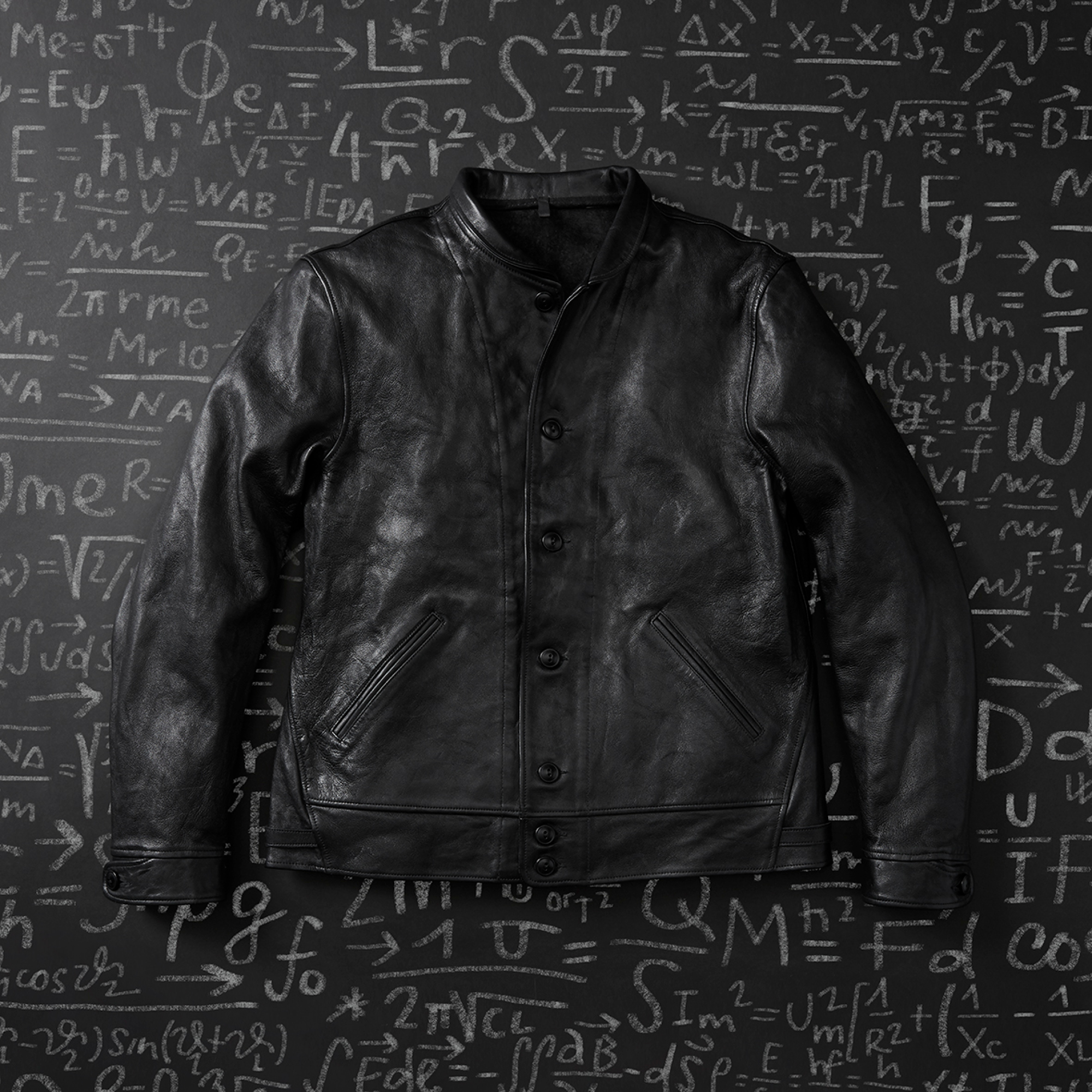Replica of Albert Einstein's Classic Menlo Cossack Leather Jacket