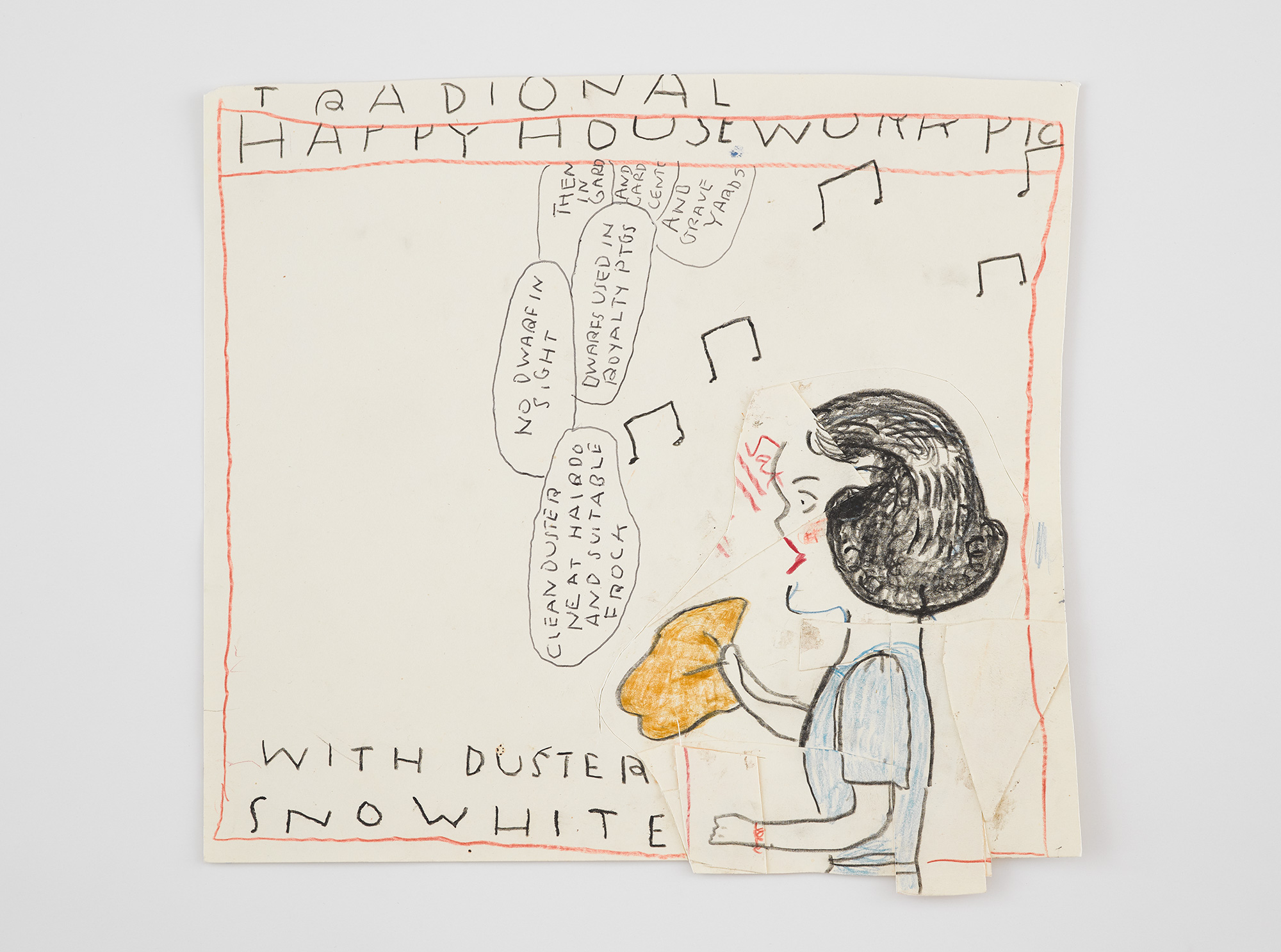 Snow White with Duster, 2019, courtesy of the artist and David Zwirner