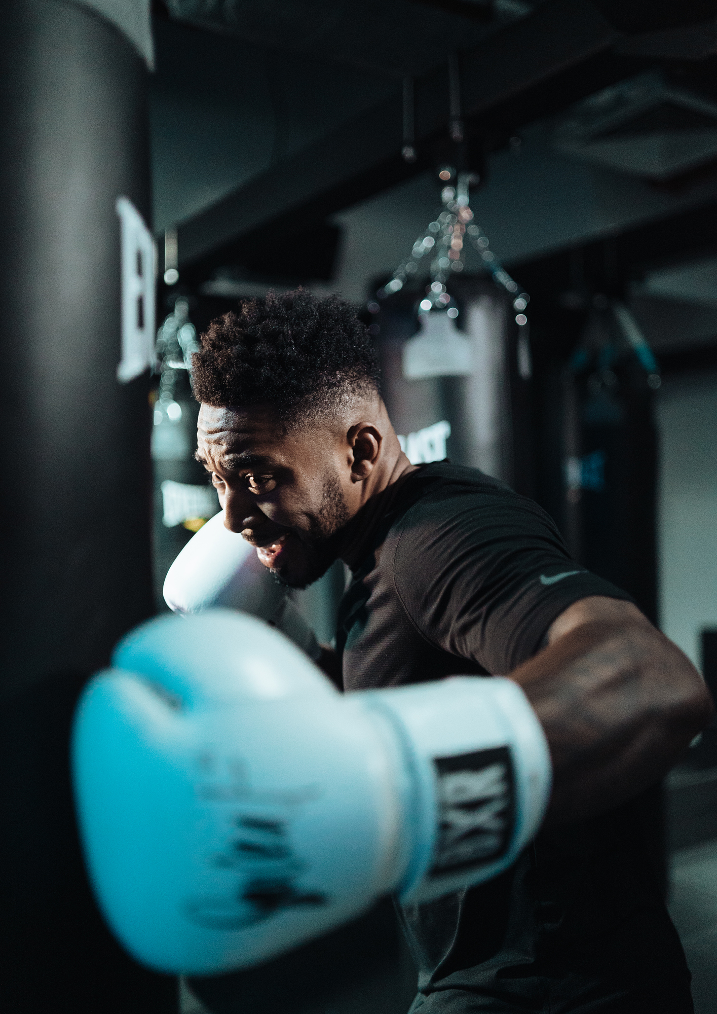 Courtney Fearon, head boxing coach at Sweat by BXR