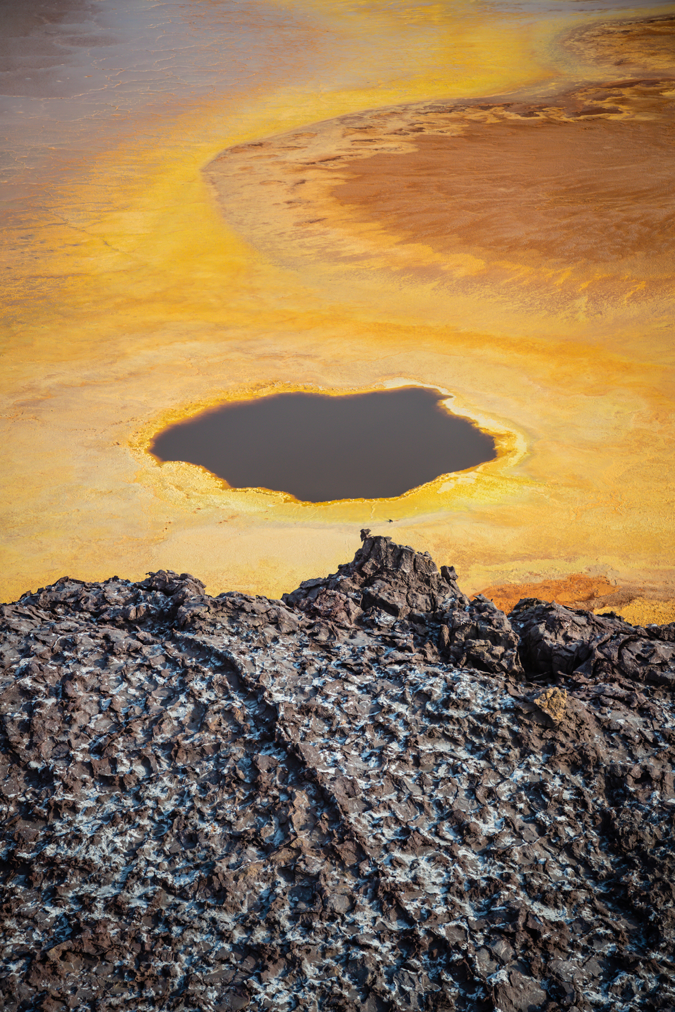 The otherworldly Danakil Depression is the hottest place on Earth