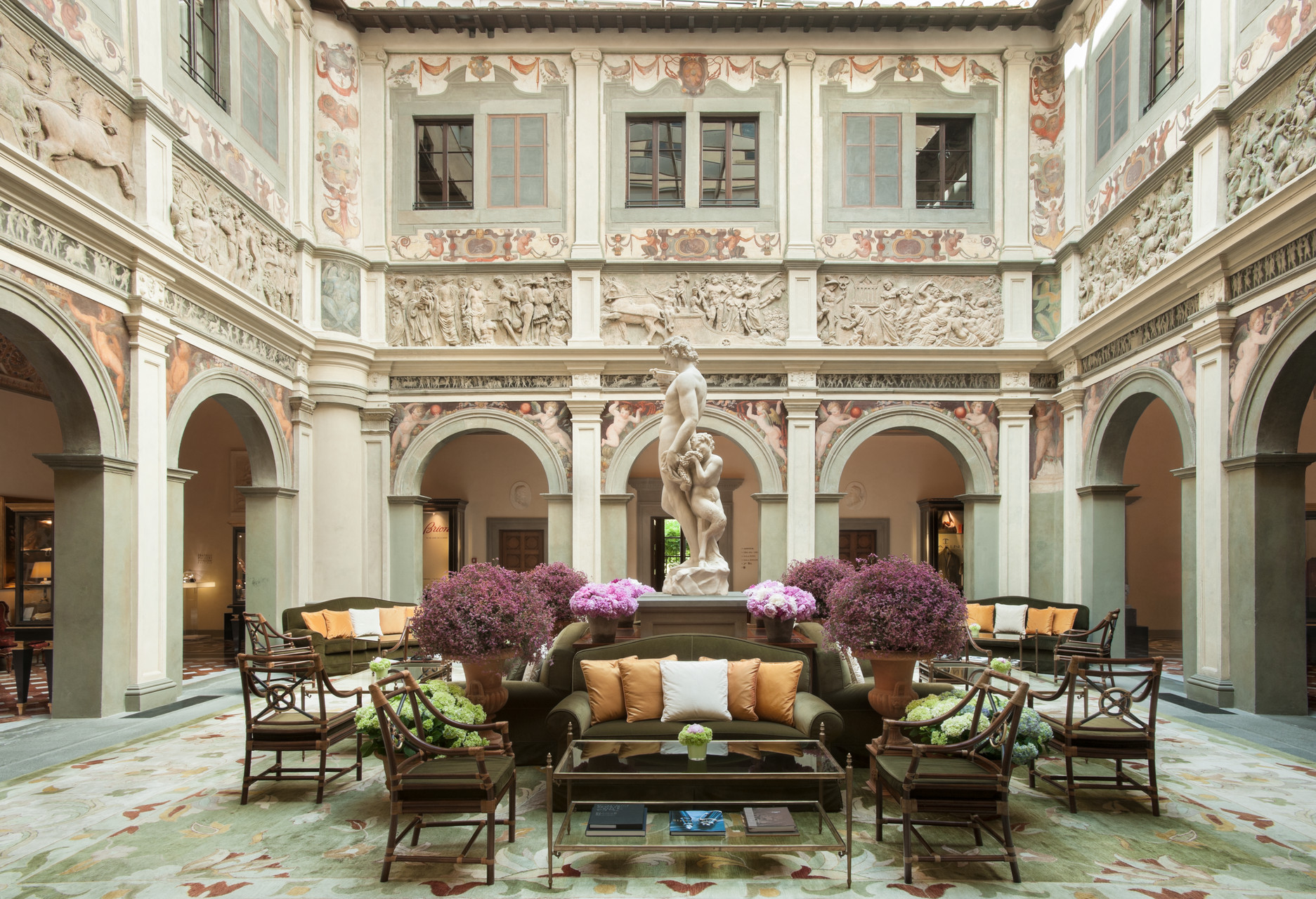 The luxury of the Four Seasons Florence