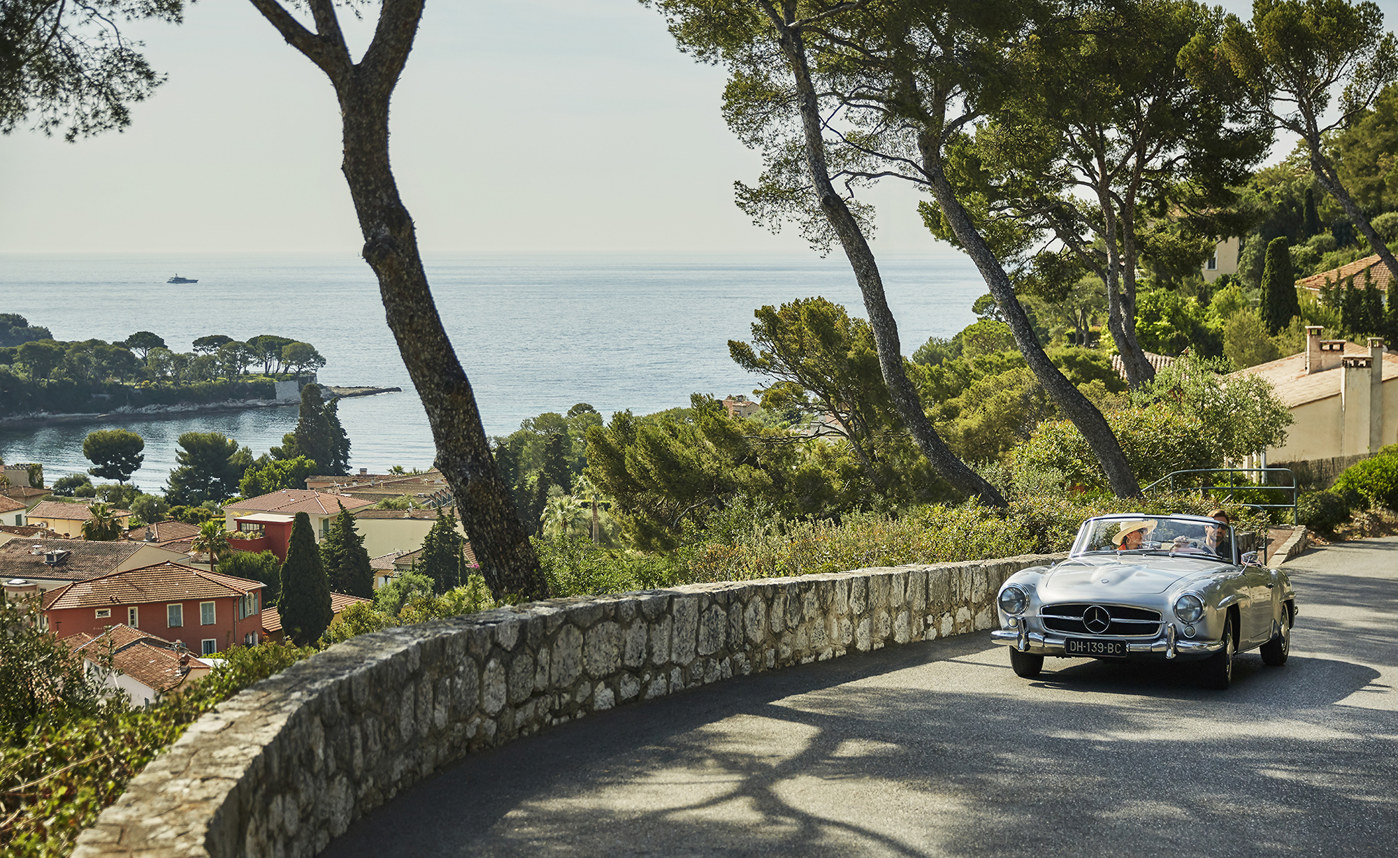 Driving through the Italian Riviera. Image: Christian Horan