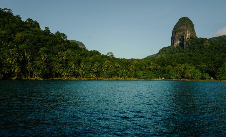 The dense, tropical jungle of São Tomé and Príncipe feels like a prehistoric Hollywood fantasy