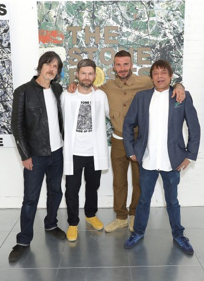 The Stone Roses x Kent & Curwen