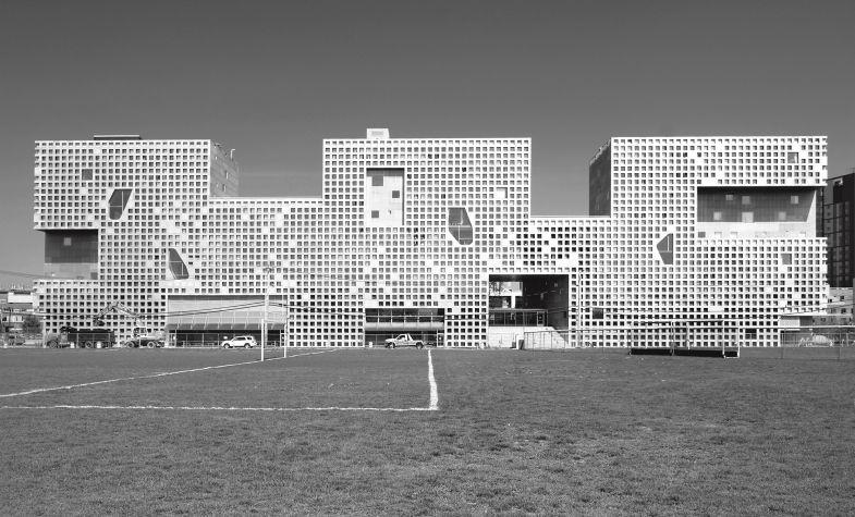 Simmons Hall in Cambridge, Massachusetts, Atlas of Brutalist Architecture