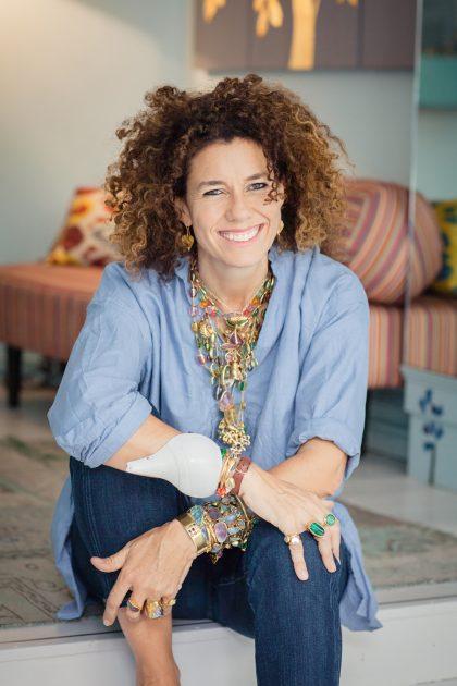 Jewellery designer Pippa Small