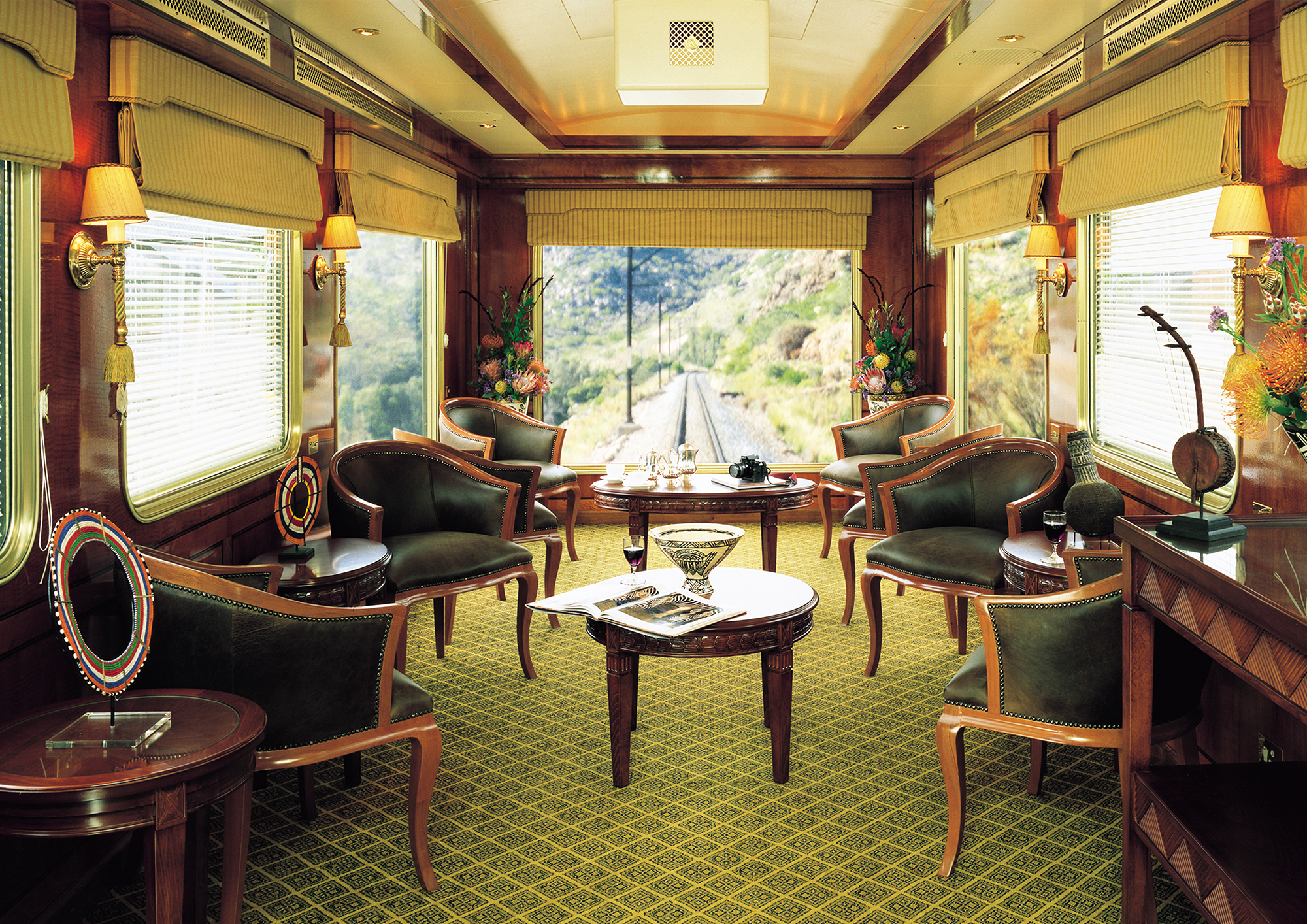 The Journey Of A Lifetime The Blue Train