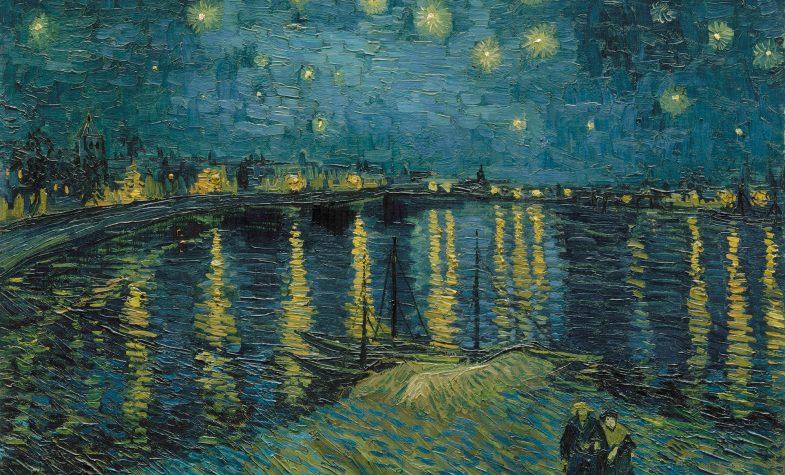 Vincent van Gogh (1853 – 1890), Starry Night Over the Rhone, 1888, oil paint on canvas, 725 x 920 mm, Paris, Musée d'Orsay. Photo (C) RMN-Grand Palais (musée d'Orsay) / Hervé Lewandowski