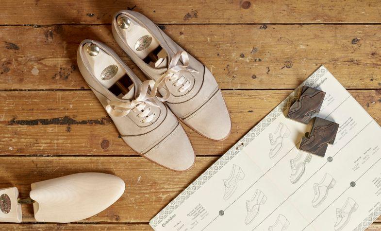 Clare Jones designs women's shoes for Crockett & Jones