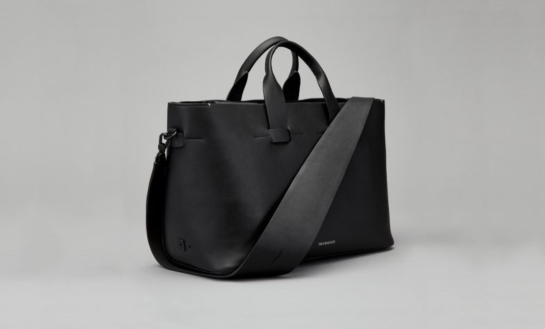 Troubadour women's collection Zola shoulder bag in black, £535