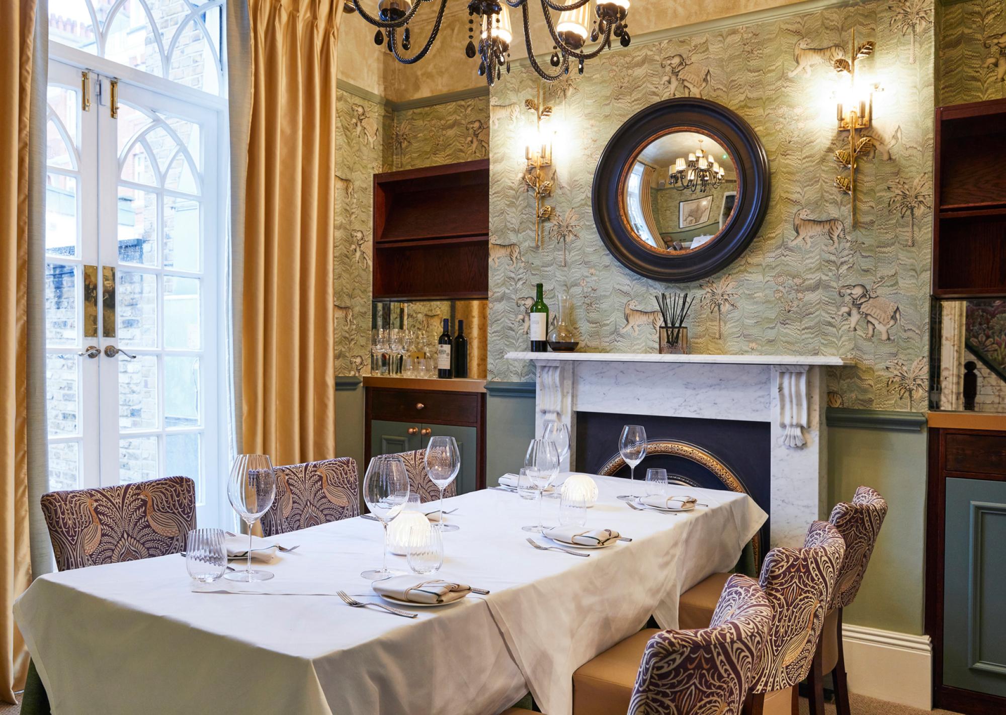 Kutir's intimate and glamorous interior