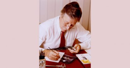 The late Gérald Gunta designed thousands of timepieces