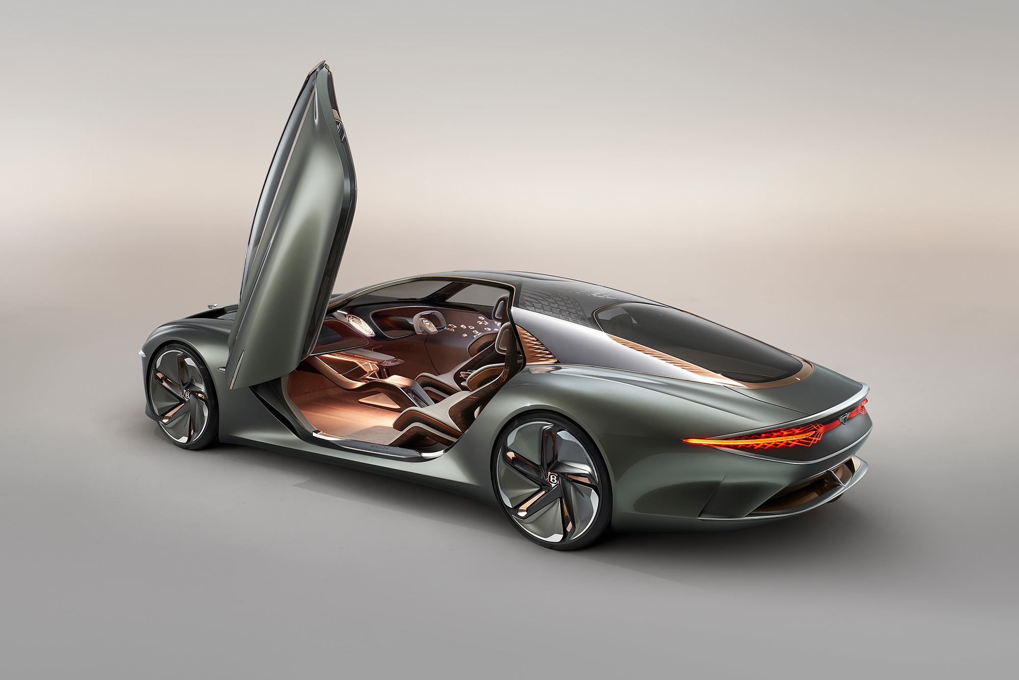 The new Bentley has been launched to coincide with the marque's centenary