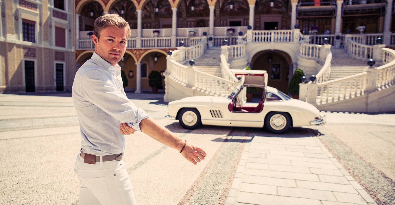 Drivin' with Nico Rosberg