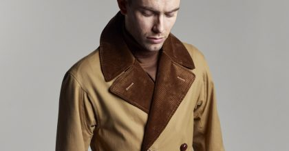 Grenfell's autumn/winter 2019 collection is inspired by classic British men's designs and the 1950s beat scene