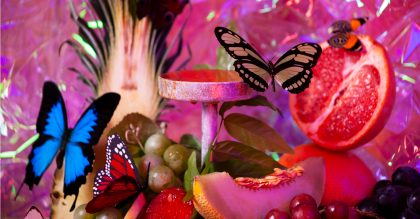 Bompas & Parr will open Butterfly Biosphere: Pleasures of the Nectar Dome Thursday 5 September