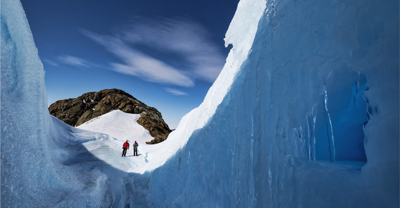 The White Desert Explorers' Academy offers a four-day adventure in Antartica with explorer Ben Saunders