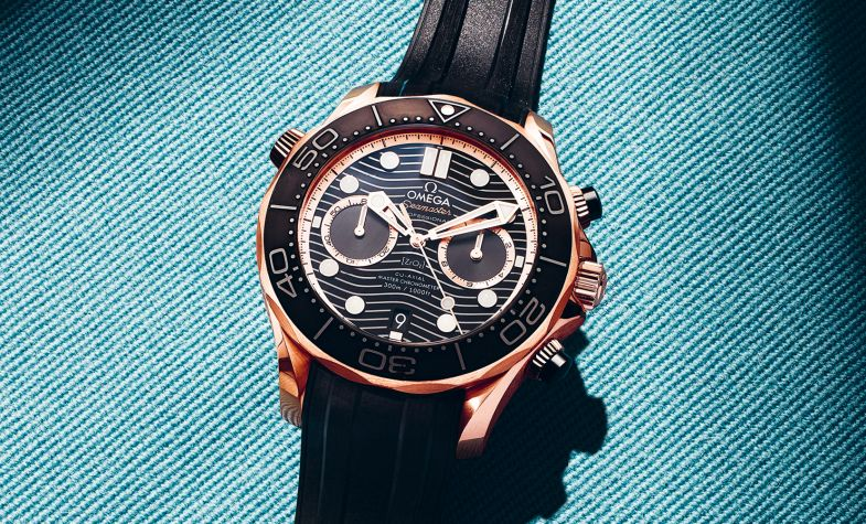 44m The Chronograph Sedna Gold
