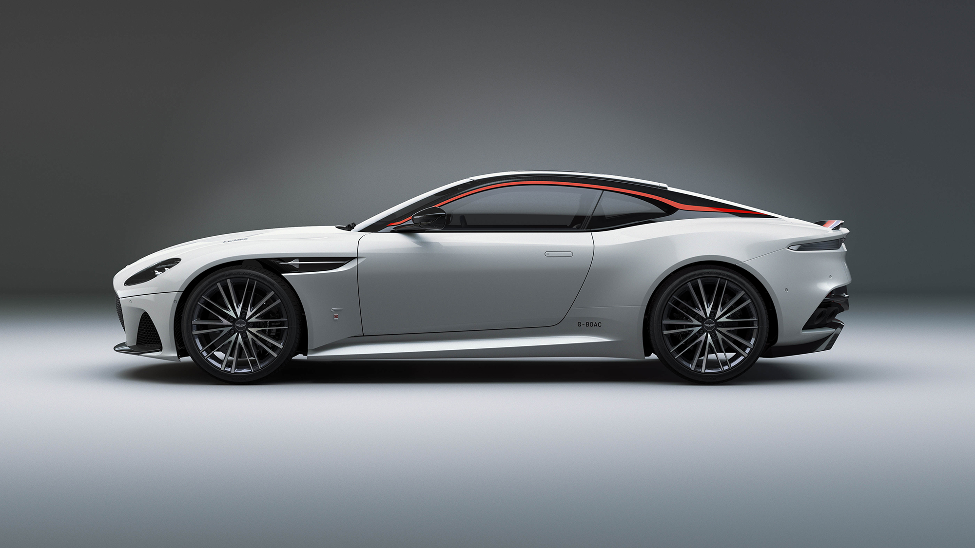 The new Aston Martin pays homage to the spirit of Concorde in its design and also incorporates actual parts of the aircraft