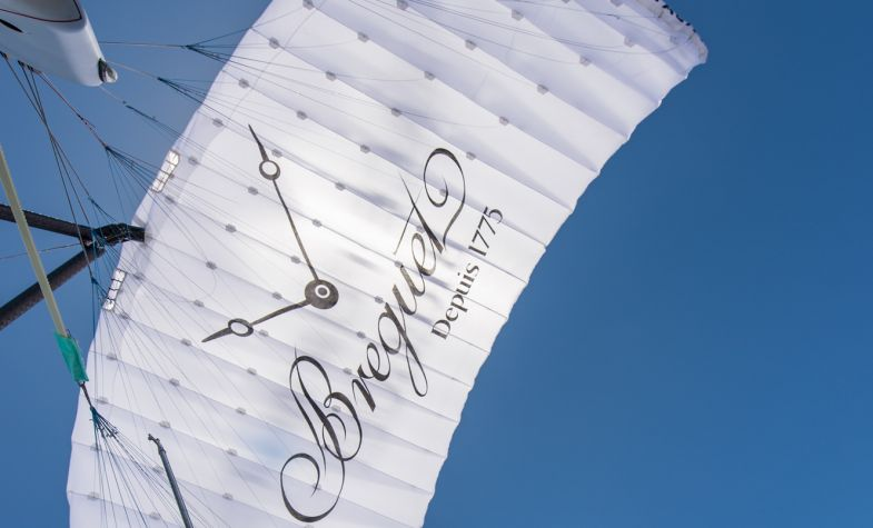 The five-year mission is sponsored by Breguet