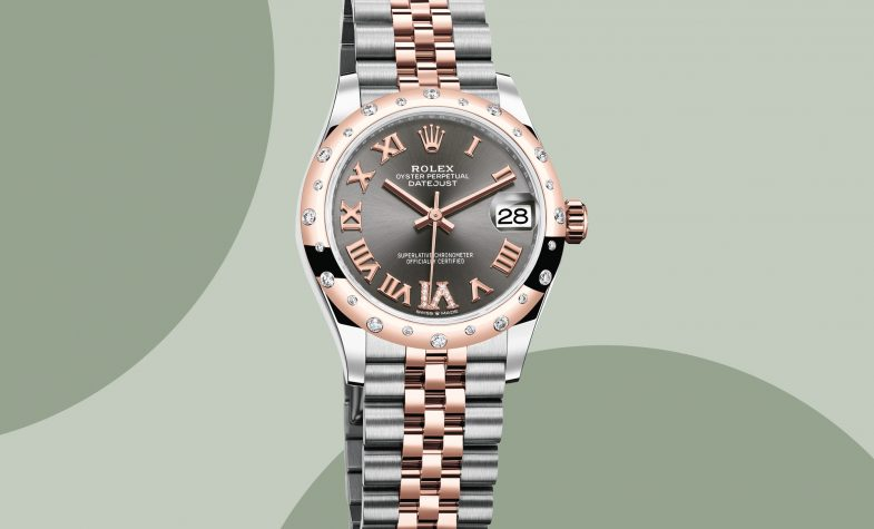 The Datejust 31 Oystersteel Envrose gold and diamonds, £11,650