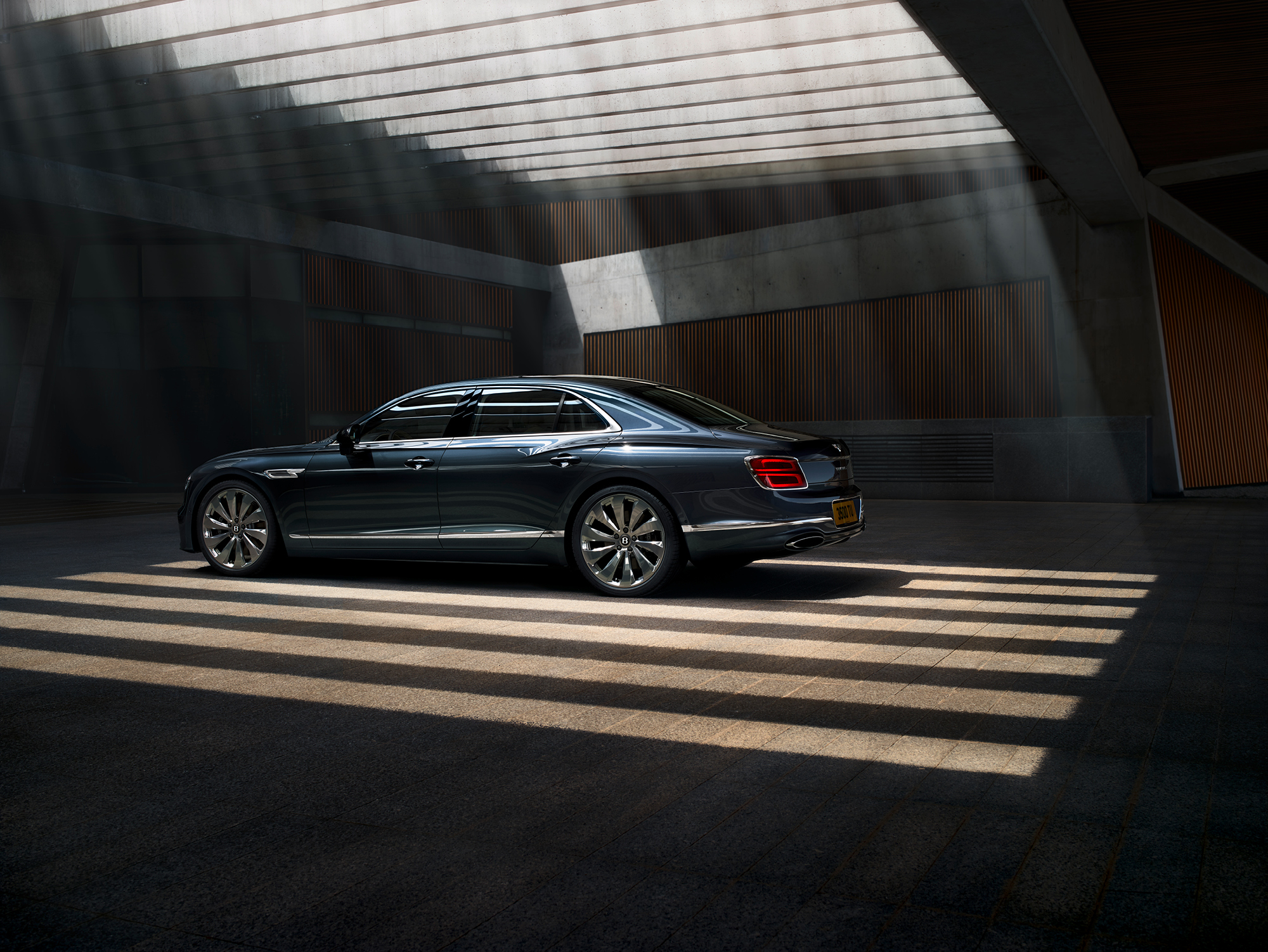 The Bently Flying Spur has all the hallmarks of the luxury marques's sumptuous finishes while harnessing innovative technology and unrivalled power