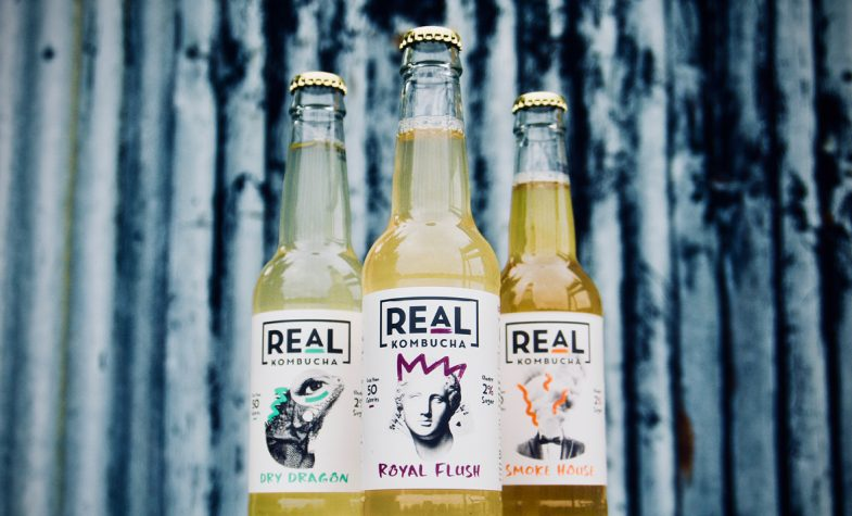 Real Kombucha is a non-alcoholic fermentation at its finest.