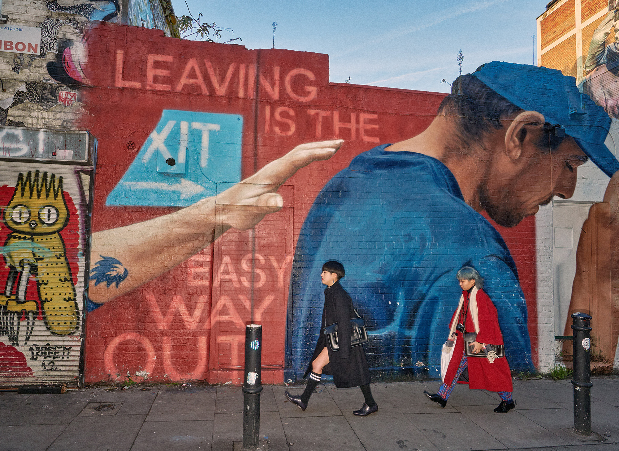 The bustling street of Shoreditch as the subject of Dougie Wall's latest photography series - East Ended
