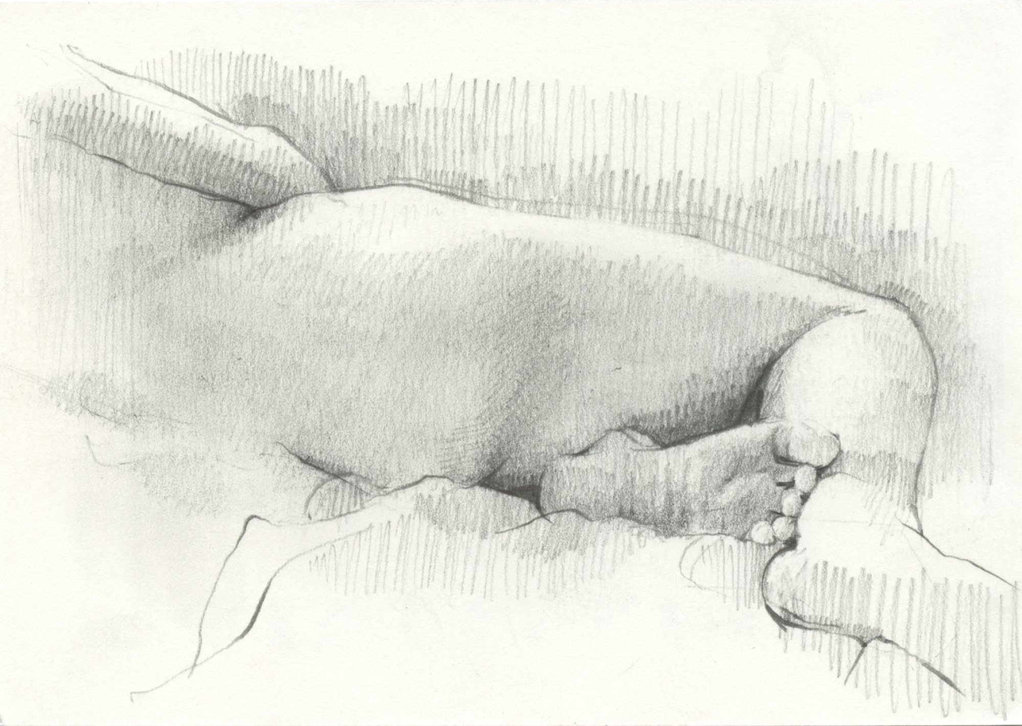 Figure Study by Kirsty Whiten