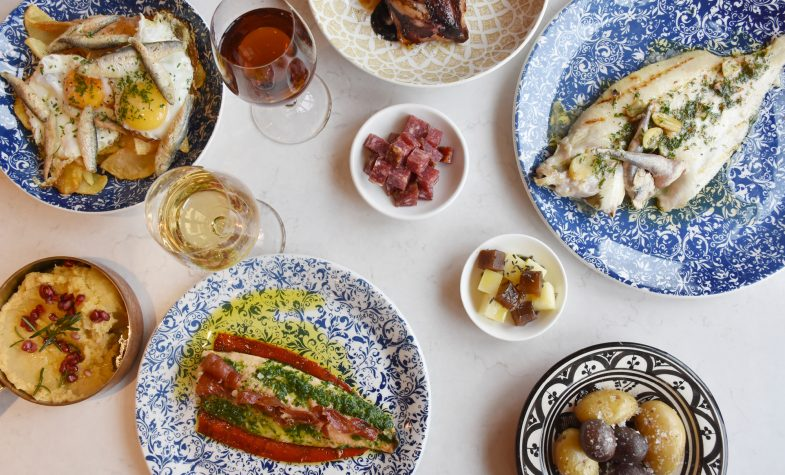 Brindisa offers a selection of traditional Spanish cuisine when dinning in, served in small or large plates.
