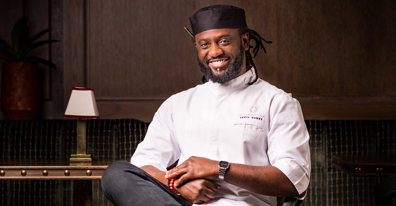 Kerth Gumbs, head chef of Ormer Mayfair