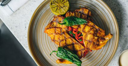 Carlo Scotto's Harissa chicken