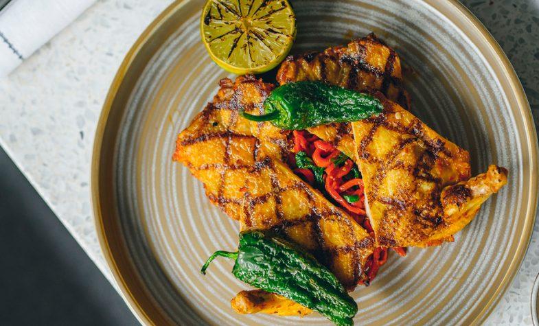 Carlo Scotto's Harissa chicken