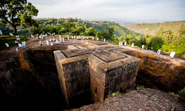 Lalibela is famed for its rock-hewn churches.