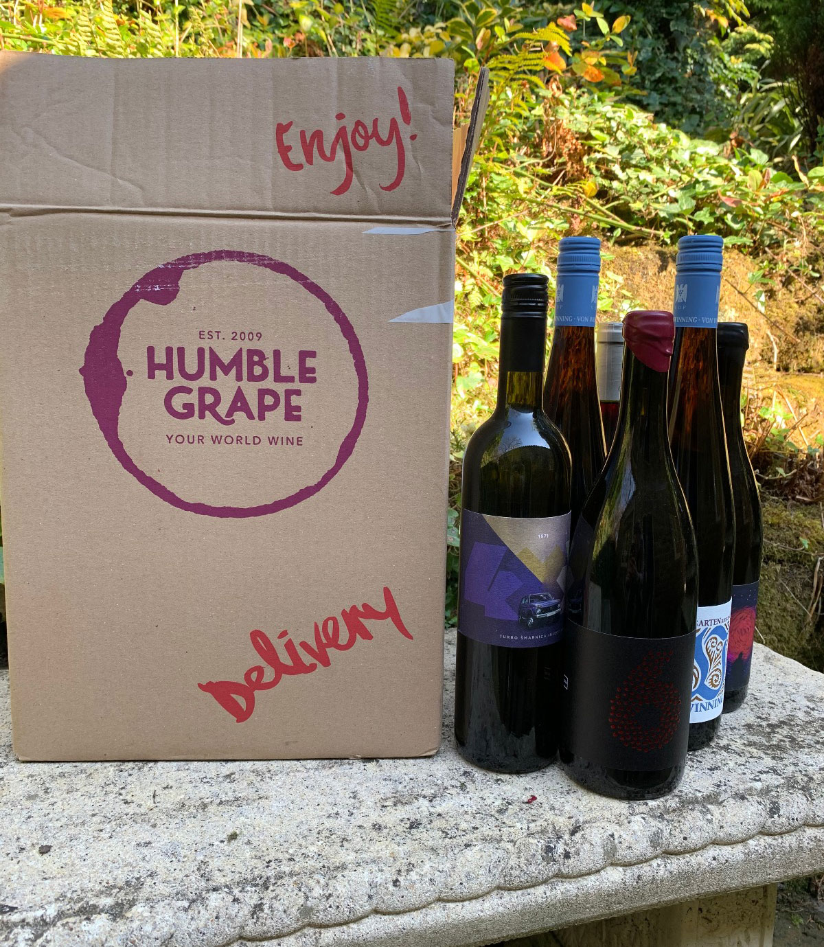 Taste along with wine producers with Humble Grape