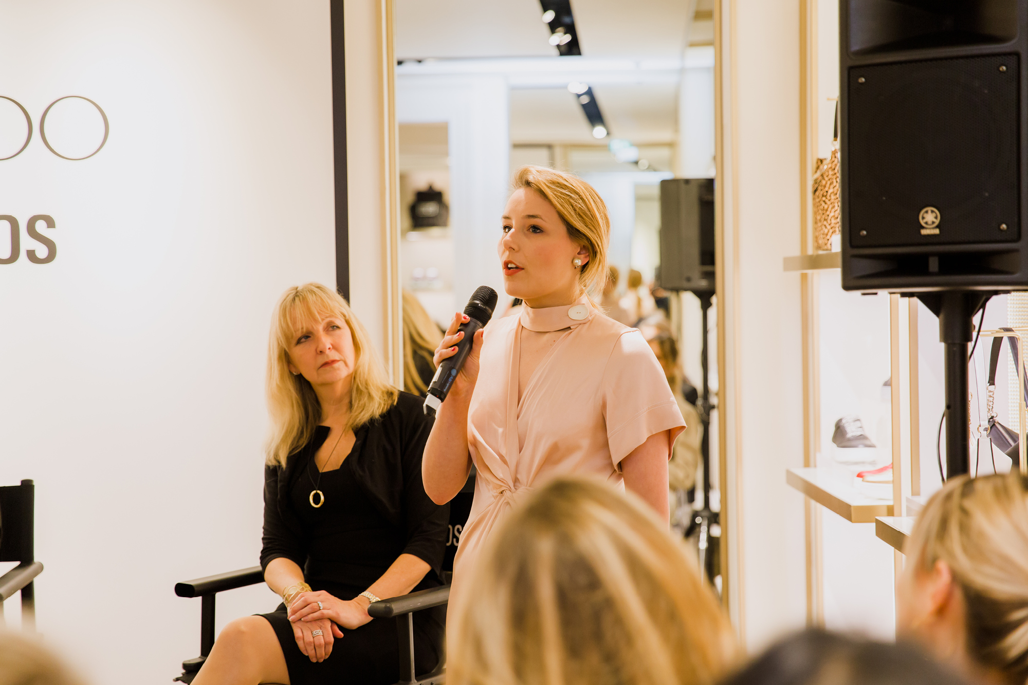 Jemima Wilson, style editor of Brummell sharing her view during the panel discussion
