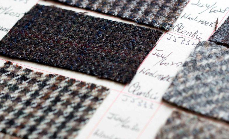 The company has made woollen tweeds since 1797.