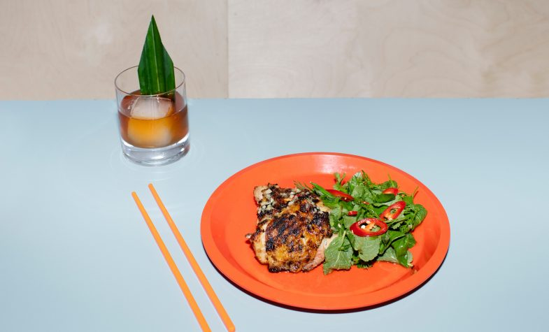 Dai grilled chicken with sweet herbs