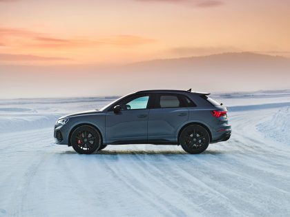 The new Audi RS Q3 compact SUV