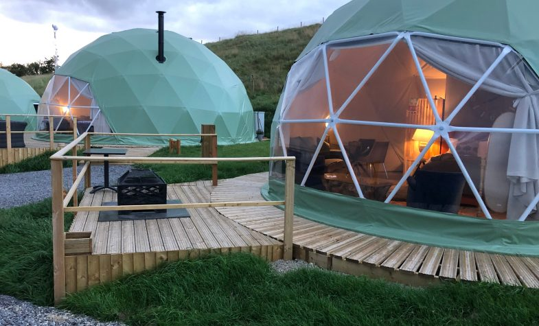 Each dome is carefully spaced to provide the ultimate luxury and private experience