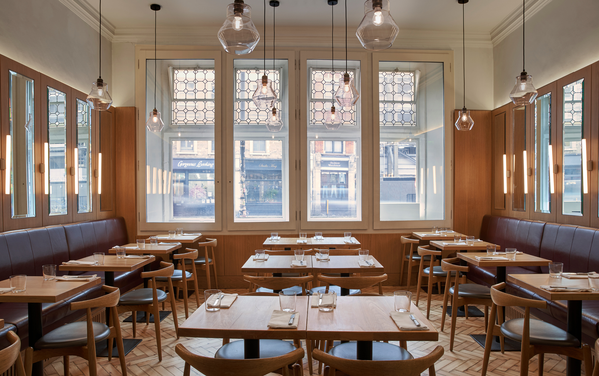 Townsend dinning room, café and wine bar at Whitechapel Gallery