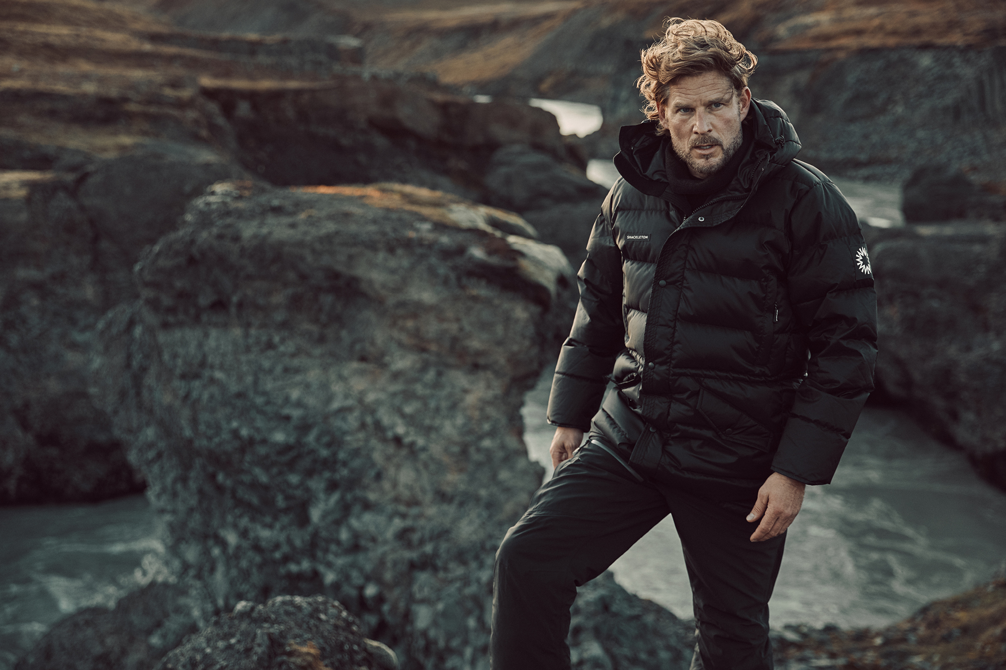 Shackleton makes expedition-grade apparel using the latest breakthrough performance materials
