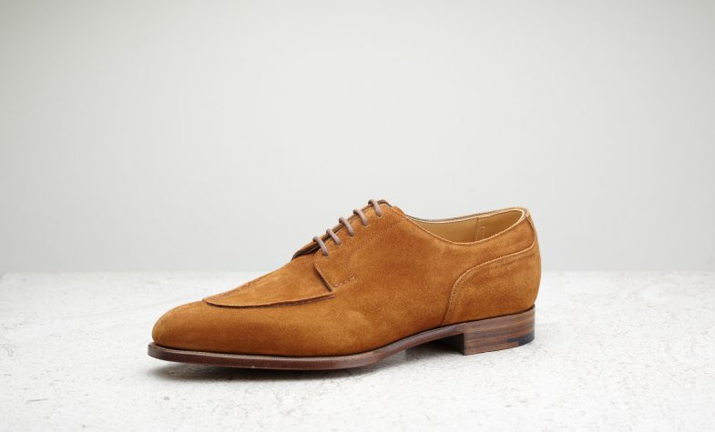 The lightweight Dover from Edward Green comes in a handsome tobacco colour, perfect for summer